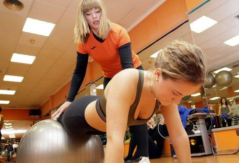 instructora de ladys gym