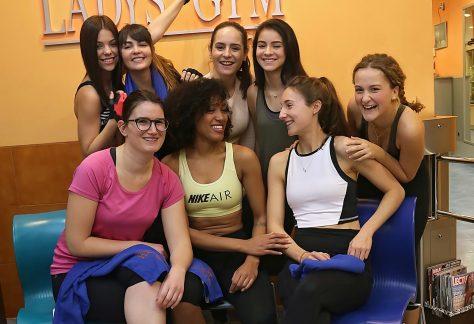divirtiéndose en Ladys Gym